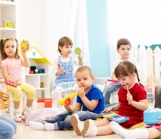 Kinder-Betreuung in der Kita