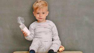 Das richtige Inhalationsgerät für Kinder von Omron
