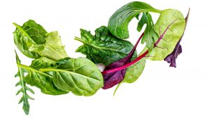 Salat als Ursache für grünen Stuhlgang