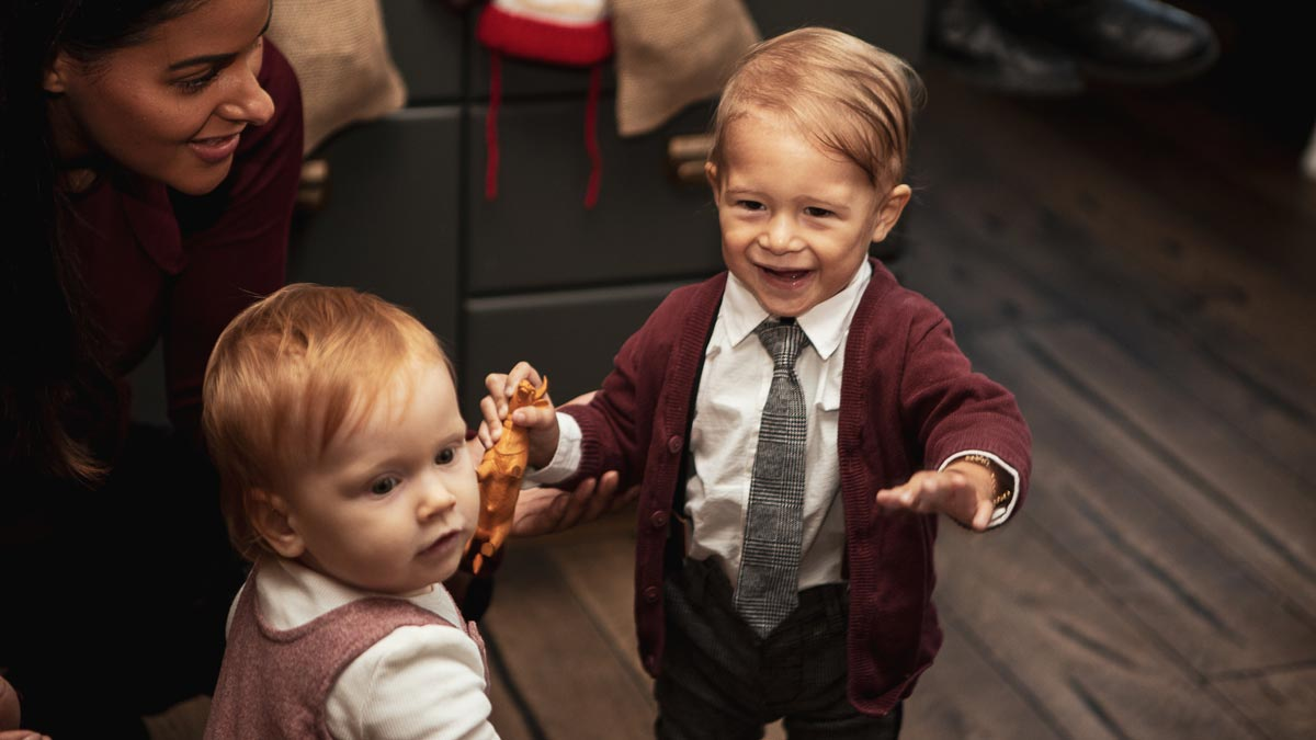 Weihnachtsoutfits Kinder C&A