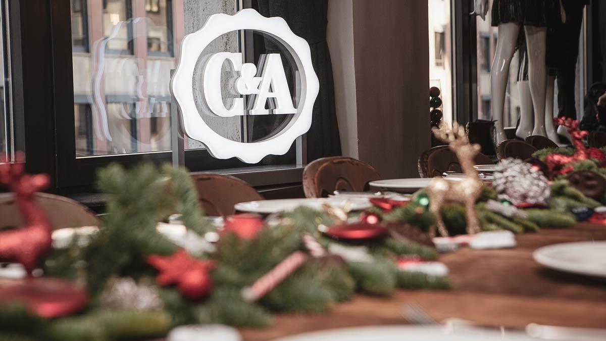 C&A Logo weihnachtsevent Echte Mamas