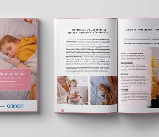 Erkältungstipps von Echte Mamas und OMRON zum kostenlosen Download