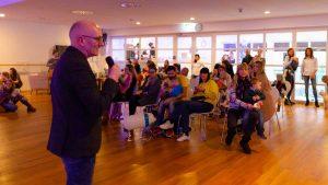 Omron Event mit Echte Mamas: Vortrag Prof Felix Herth