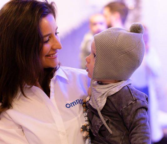 Omron event mit Echte Mamas Julia Wickmann