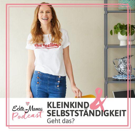 Stefanie Luxat zu Gast im Echte Mamas Podcast