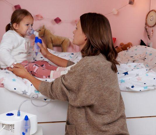 Ein guter Weg, unsere Kleinen vor Erkältungen zu schützen oder sie zu lindern: Inhalieren.