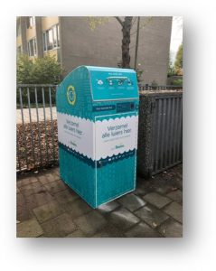 Pampers Sammel-Container
