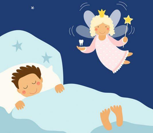 Die Zahnfee kommt nachts, wenn alles schläft...