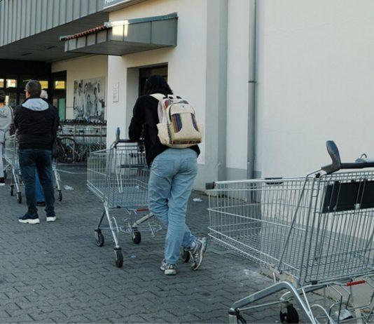 Corona wirkt sich auf den Einkauf im Supermarkt aus
