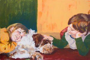 Für Opa Tiere und Kinder von Tamara Tavella