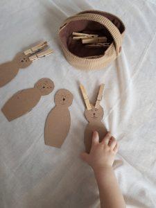 Eine tolle und schnelle Idee, deine Kinder zuhause zu beschäftigen - gerade jetzt für Ostern.