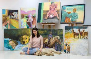 """Tamara Tavella hat durch eigene Erfahrungen """"ihr"""" Thema gefunden: Kinder durch die Trauer um ihr Haustier zu begleiten. Foto: privat"""