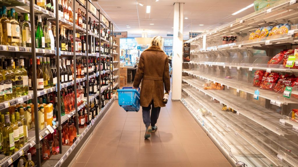 Supermarkt Corona