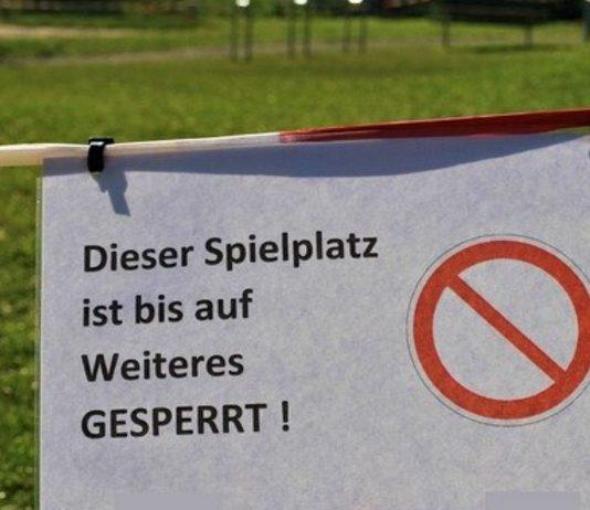 Kitas bleiben geschlossen, Spielplätze gesperrt. Aber bitte denkt daran: Kinder sind nicht Schuld an Corona!