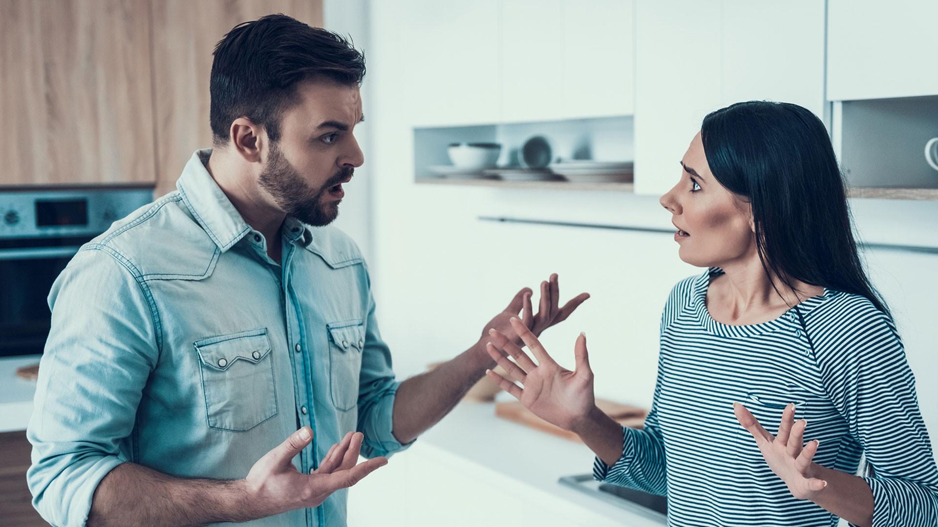 Ehemann ruft beim Betrügen an