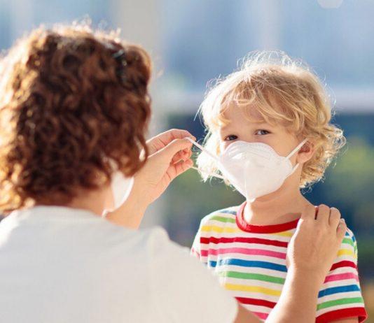 Wichtig - die Maskenpflicht gilt auch für Kinder. F