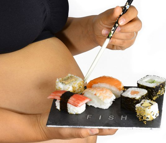 Sushi in der Schwangerschaft kann gefährlich werden.