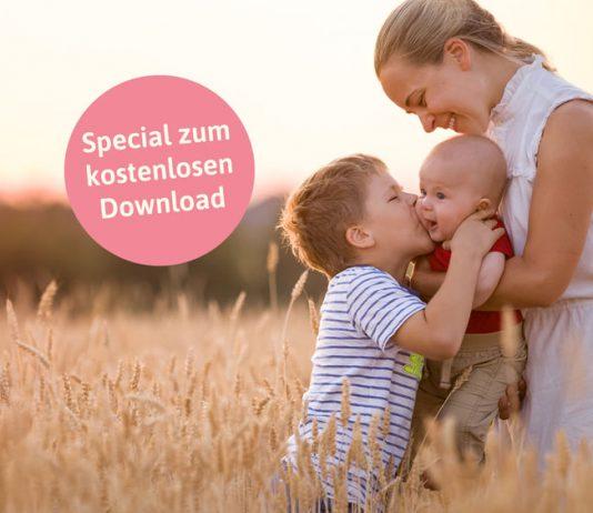 Unser Special zum kostenlosen Downlaoad: Sanfte Hilfe bei Bauchweh, Zähnchen & Co.