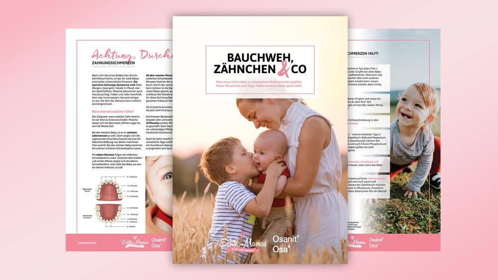 Special zum Download: Hilfe bei Bauchweh, Zähnchen & Co.