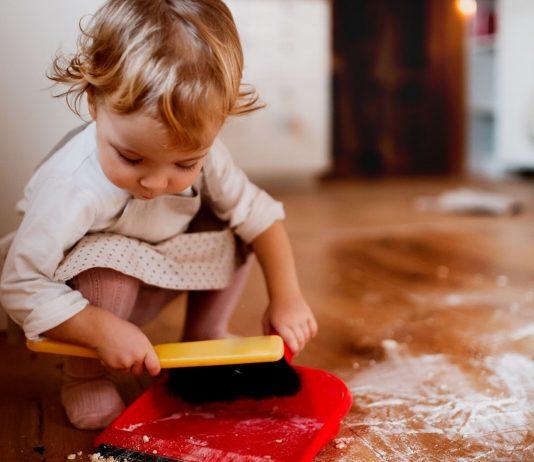 Es muss nicht immer alles tip top sauber sein: Die Zeit mit meinem Kind ist mir wichtiger!
