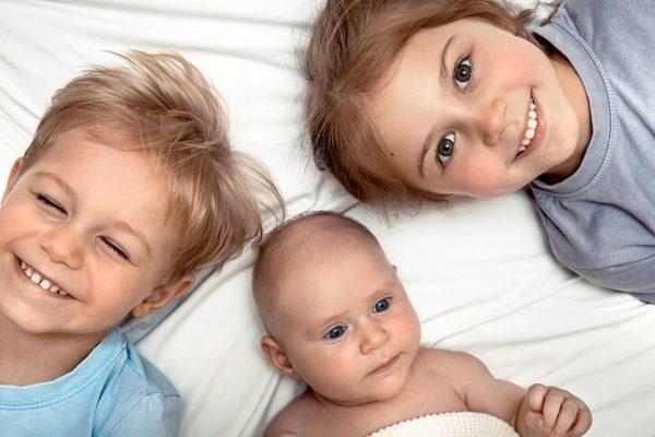 Die Reihenfolge der Geburten hat Einfluss auf den Charakter unserer Kinder.