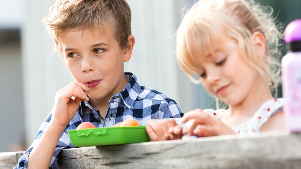 An der frischen Luft schmeckt Obst noch leckerer – ein süßes und gesundes Picknick mit Kindern.
