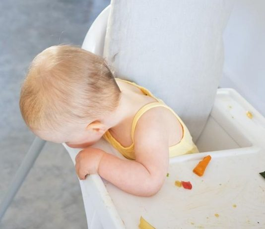 Upppps – wo ist denn das Apfelstück jetzt geblieben?