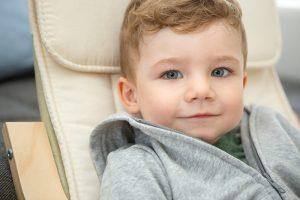 Trotz Asthma ein glücklicher Junge: Emil.