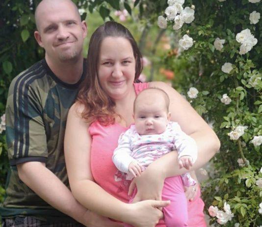 Raffaela und ihr Mann sind glücklich, dass sich ihr Kinderwunsch doch erfüllt hat.