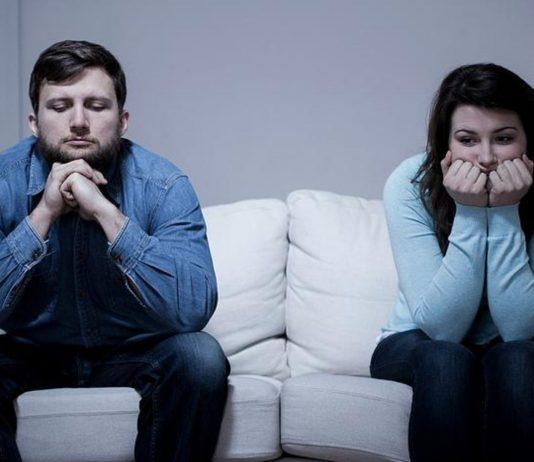 Ein handfester Streit mit dem Partner geht an die Gesundheit.