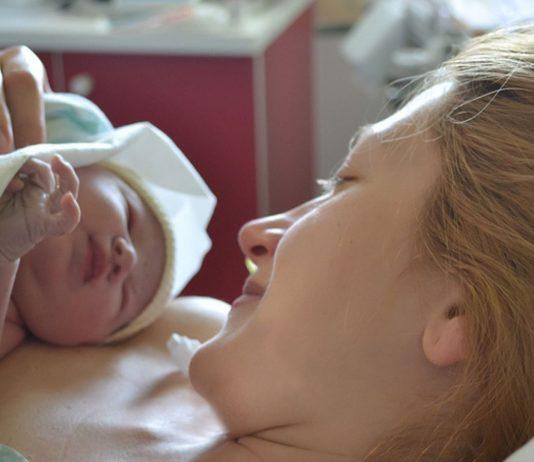 Jennys Tochter wäre fast auf dem Flur zur Welt gekommen.