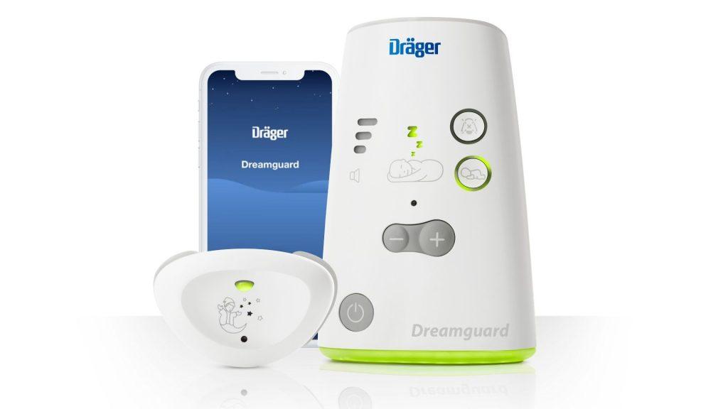Der Dreamguard von Draeger: Wearable, Empfangsstation und App.