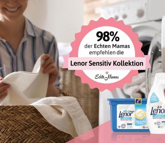 Ihr habt getestet und gewaschen – und seid begeistert von der Lenor Sensitiv Kollektion.