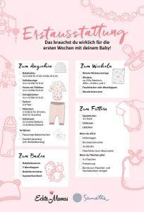 Alle Basics, die du brauchst: Mama-Tipps für die Erstausstattung