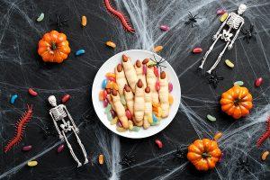 Hexenfinger als Halloween Snack