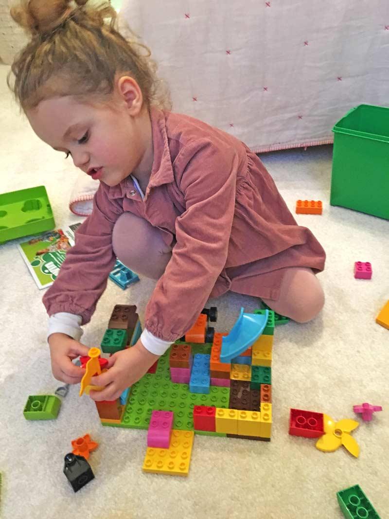 Buntes mit Lerneffekt: LEGO DUPLO Bausteine begeistern Mädchen und Jungs.