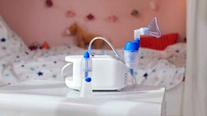 Inhalationsgerät und Nasendusche von Omron