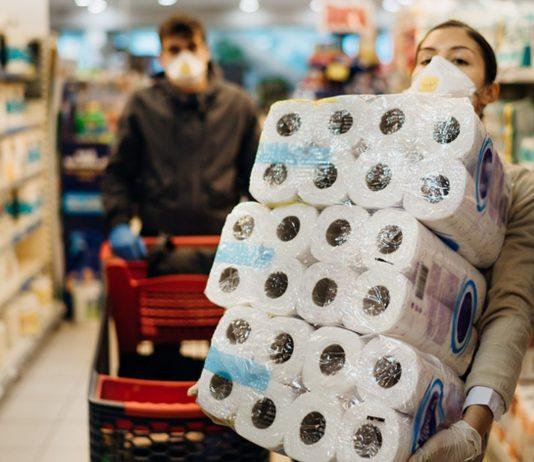 Supermarkt ergreift Maßnahme gegen Hamsterkäufe