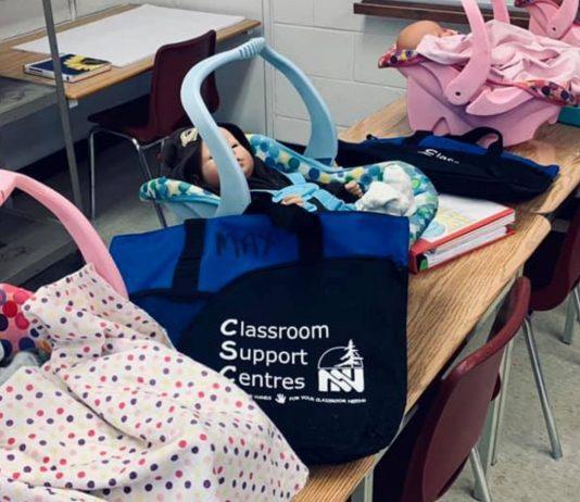 Ein Baby-Schulprojekt brachte Schüler in Kanada an ihre Grenzen