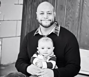 Joel mit seinem Sohn Milo