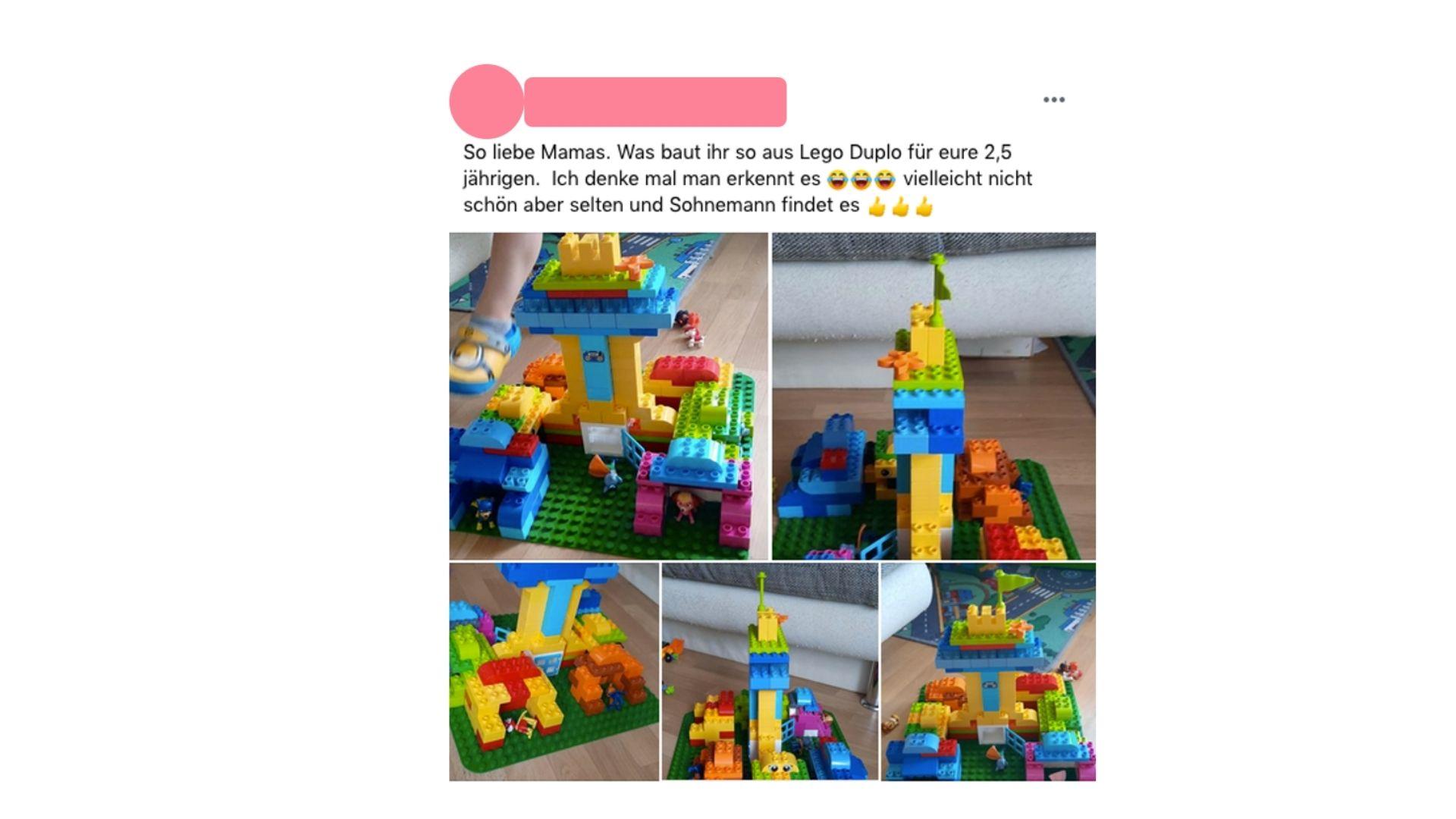 LEGO DUPLO Spielideen Beispiel Echte Mamas