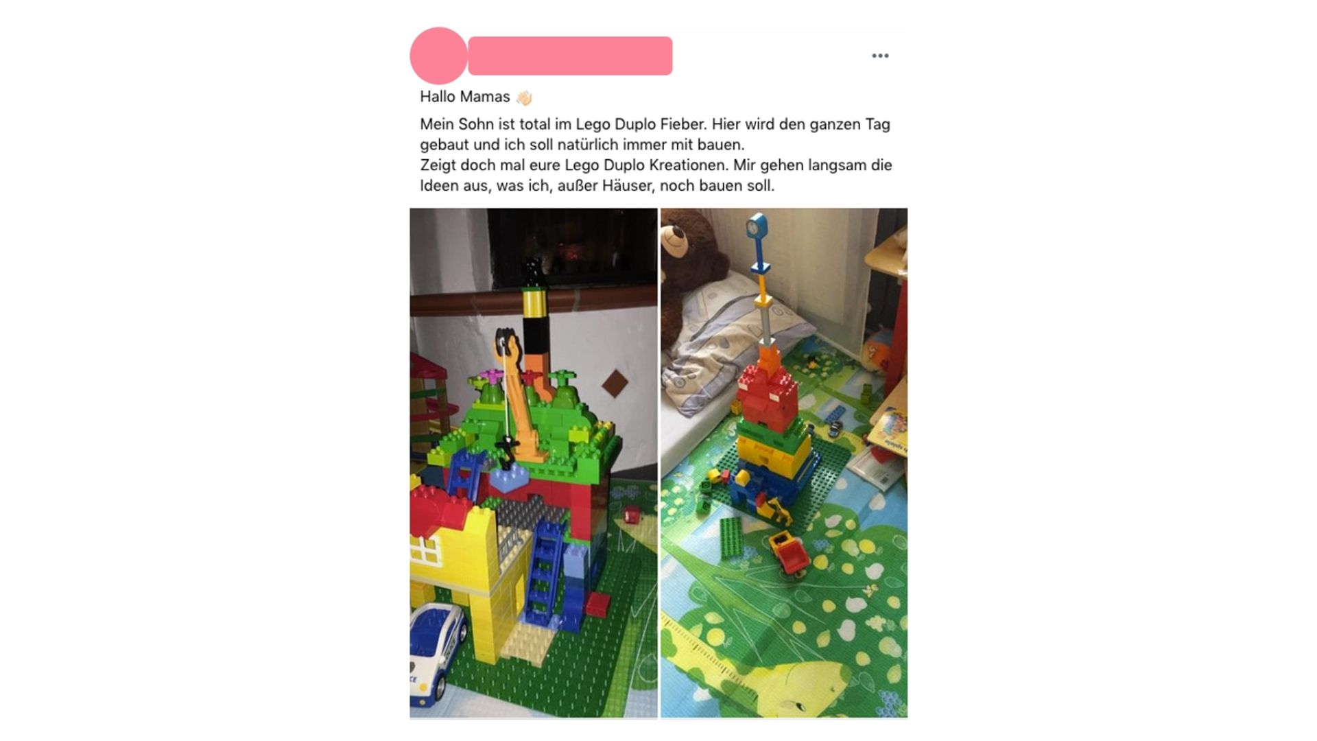 LEGO DUPLO Spielideen Frage Echte Mamas Community