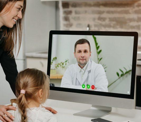 Inzwischen können auch Kinder online krankgeschrieben werden