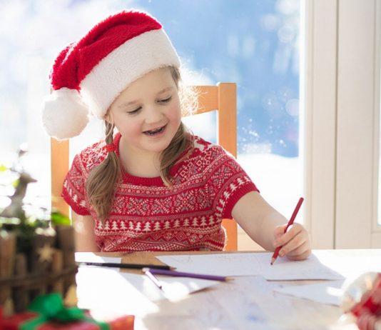 Weihnachtspost schreiben macht Spaß und manchmal antwortet der Weihnachtsmann sogar