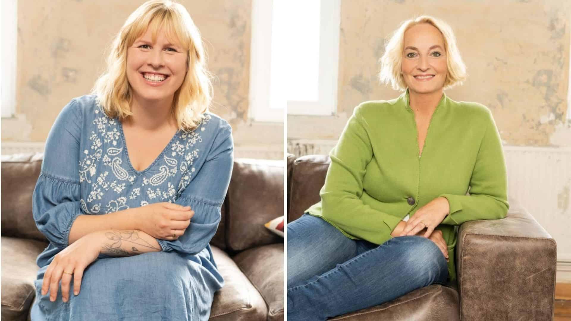Expertinnen für das Babyliebe-Magazin von Edeka: Hebamme Maren und Hebamme Tatjana