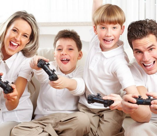 Es gibt viele tolle Videospiele für die ganze Familie