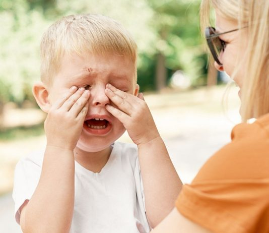 Eine Mama verrät ihren Trick, um ihren Dreijährigen zu beruhigen