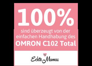 Das C102 Total von OMRON ist super easy in der Anwendung.