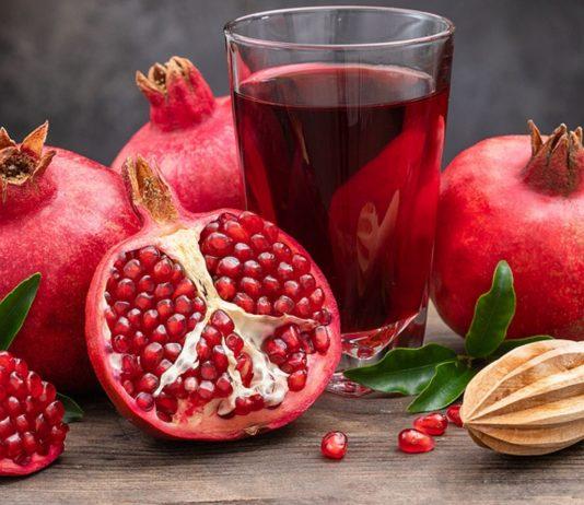 Granatapfel ist in der Schwangerschaft besonders gesund.