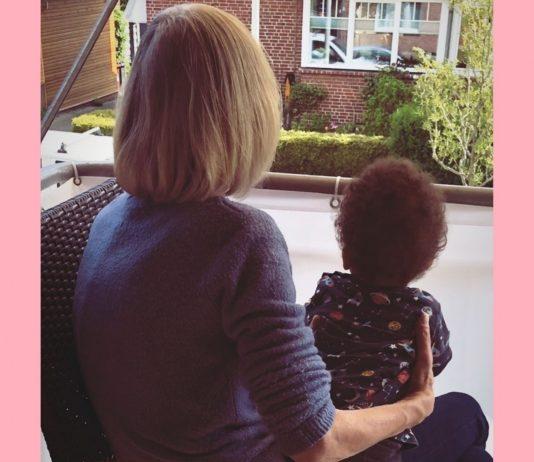 Zumindest ihren ersten Enkel hat meine Mama noch richtig kennengelernt.
